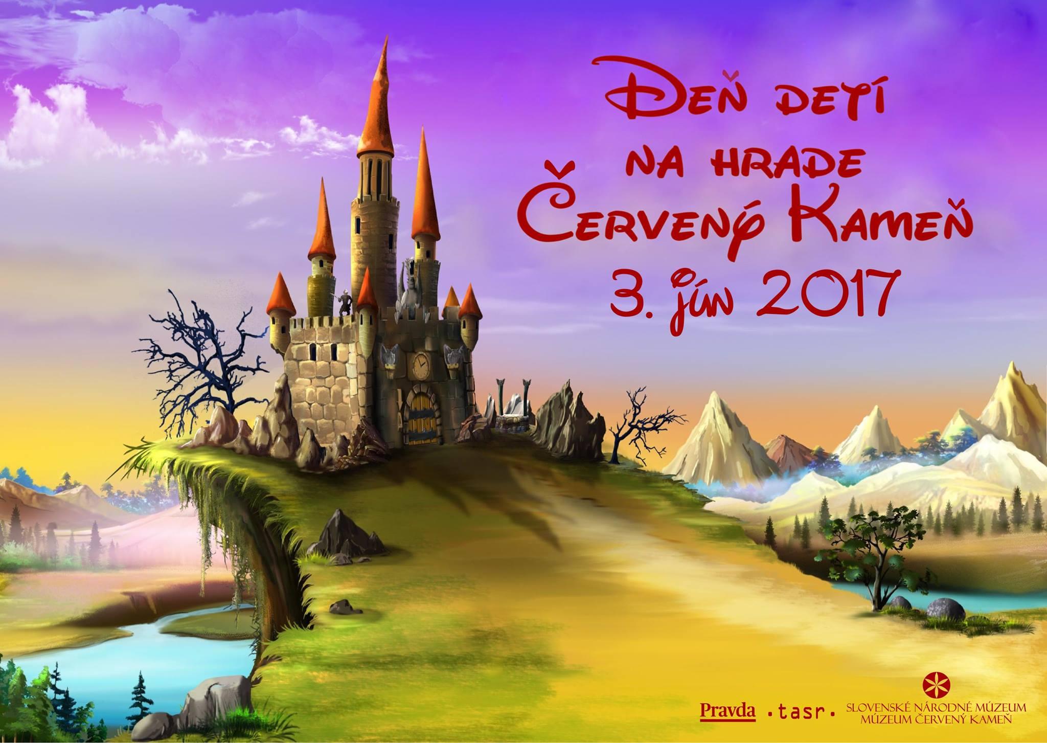 Deň detí na hrade Červený Kameň 2017