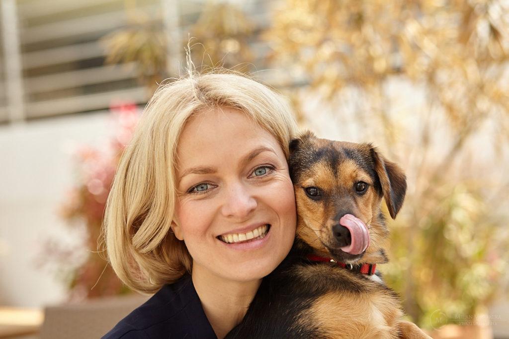 Kto je fotogenickejší? Sympatická Janka Hospodárová má nového psíka