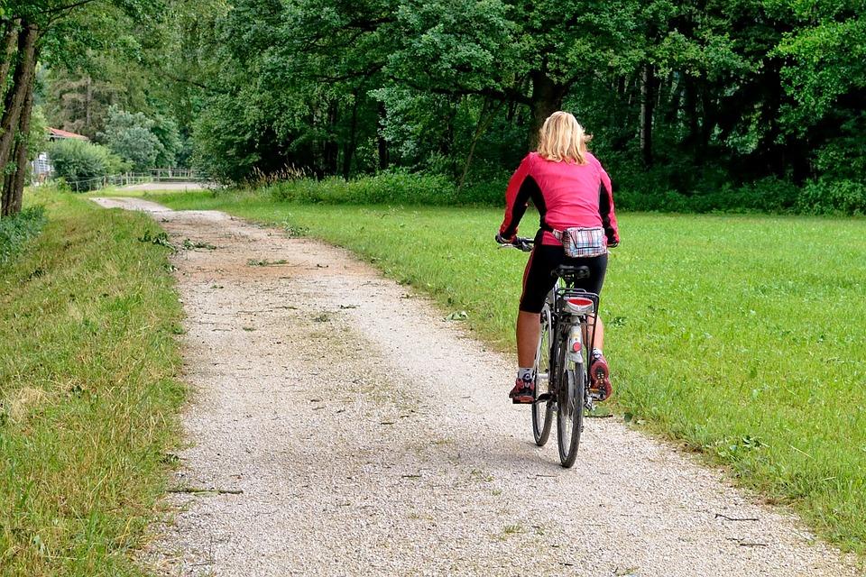 Čo ste dnes robili? Ja som sa bola bicyklovať. Vypočujte si moju motiváciu.