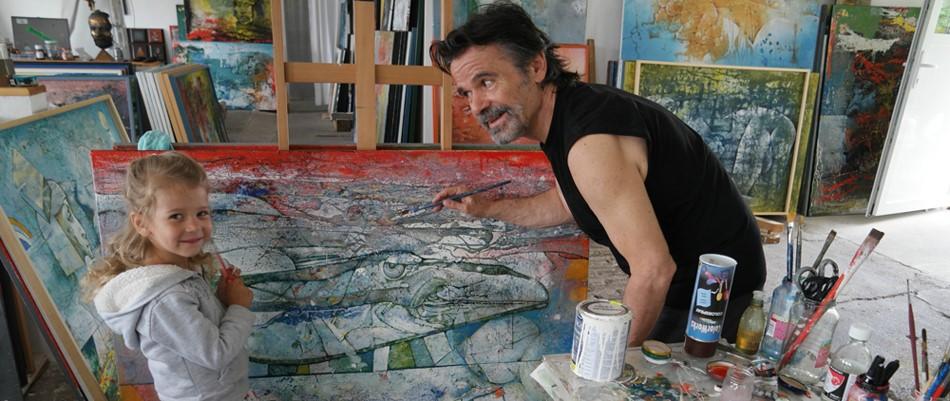 S akademickým maliarom Štefanom Polákom len tak o živote