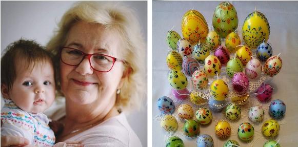 Táto šikovná žienka po večeroch namaľovala skoro 100 vajíčok