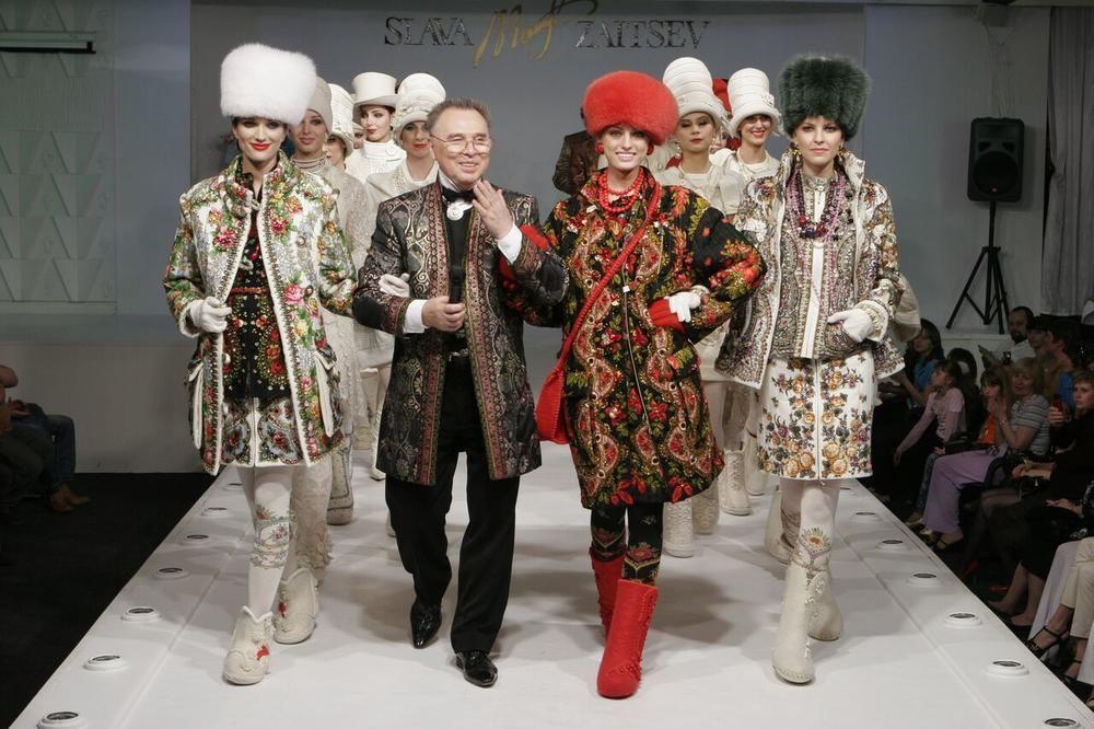 Vjačeslav Zajcev, slávny ruský módny dizajnér je naozaj výnimočný