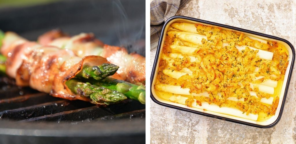 Špargľa – kráľovská zelenina