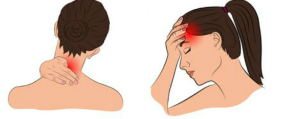 8 častí tela, kde sa ukladá stres