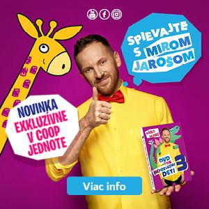 COOP Jednota banner Miro Jaroš
