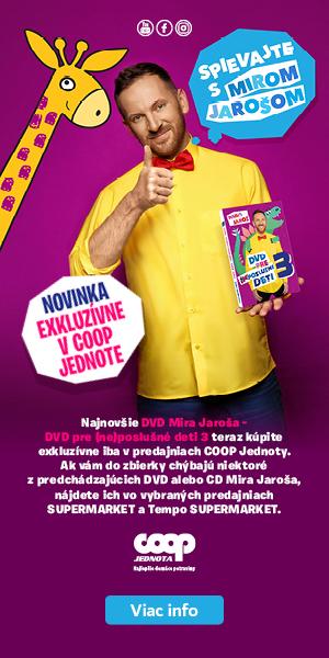 COOP Jednota banner Miro Jaros long
